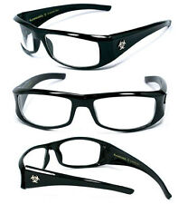 BioHazard Mens Sunglasses w/Free Pouch - Clear BZ1