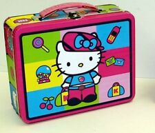 Hello Kitty Squares Tin Lunch Box