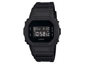Casio G-Shock Mens Watch DW5600BB-1 DW-5600BB-1DR Digital Matte Black Free Post