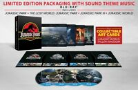 Jurassic Park 25th Anniversary Limited Edition Gift Set	4-Movie Blu ray
