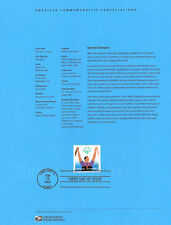 #0307 80c Special Olympics 2003 #3771 Souvenir Page