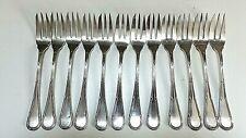 Sabatier frères  - 12 fourchettes à dessert  ou entremets  - Métal argenté