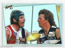 1997 Select Head to Head (H2H11) HOCKING Geelong & BURKE St. Kilda ***