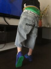 top KARL KANI Baggy Jeans Short Gr.38 Pelle FUBU southpole ecko