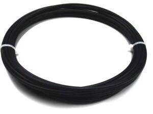 Kunststoffschweißdraht ABS/PC 4mm Rund Schwarz 10 Meter