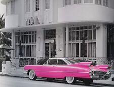 """Richard Cummins, Pink Cadillac - Miami, digital,18""""hx24""""w image"""