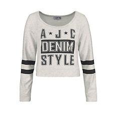 genial SWEATSHIRT GRAU Sweater PULLOVER College Gr.40/42 L/XL