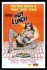 HOT LUNCH ✯ CineMasterpieces MOVIE POSTER 1978 ADULT X RATED KITCHEN FOOD YUMMY