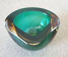 Sehr dekorative Murano Design Glas Schale, Blockascher Aschenbecher TOP (H148)