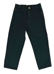Boy's EGLE jeans Classic/Straight Leg Hunter green Denim jeans Solid Size 2-7