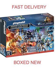 New Playmobil 70187 Novelmore 'Battle for the Magic Stone' Advent Calendar Gift