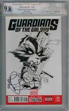 GUARDIANS OF THE GALAXY #2 SKETCH VARIANT PGX 9.8 SIGNATURE SERIES SIGNED BENDIS