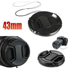 Kamera Objektivdeckel Abdeckung 43mm Camera Lens Cap Cover für Sony Nikon usw.