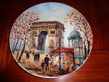 Limoges Collectors Plate L'ARC DE TRIOMPHE