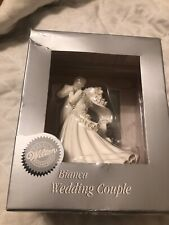 BIANCA WHITE BRIDE & GROOM FIRST ROMANTIC DANCE WILTON 1998 WEDDING CAKE TOPPER