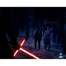 Daisy Ridley Star Wars Autographed Signed Rey In Forest 16x20 Photo PSA/DNA