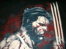 Wolverine Profile Marvel Disney Black Limited T-shirt Men's Medium New NWOT