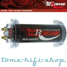 Renegade RX1200 1,2F Powercap Auto Kondensator PKW 1,2 Farad Cap für Verstärker