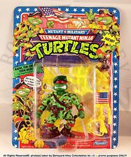 1991 ORIGINAL TMNT RAPH, THE GREEN TEEN BERET*MOC*NEW