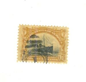 #6 United States   #299 - 10 Cent Pan American Exposition Issue CV $32.50 1901