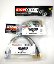 STOPTECH STAINLESS STEEL BRAIDED FRONT BRAKE LINES FOR 02-09 GMC ENVOY