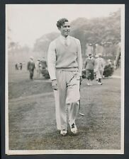 """1933 Johnny Farrell, """"Metropolitan Open Leader at Winged Foot"""" Perfect 10 Photo"""