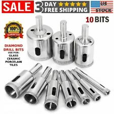 Diamond Drill Bits Cutting Hole Maker Hollow Saw Cutting Set Glass Ceramic Tile