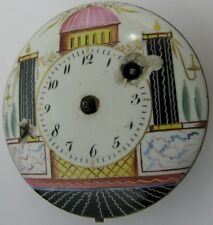 Pocket Watch French Movement, painted porcelain dial chain fusee ... project