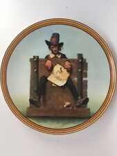 """Norman Rockwells """"Ye Glutton"""" The 8Th Plate In Rockwells Colonials 1988"""
