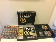 THE HUNGER GAMES Training Days Board Game 2010 Movie Strategy Mocking Jay Fire