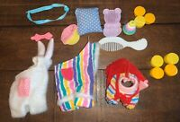 Vintage 1980s G1 My Little Pony Baby Accessories Clothes Outfit Shoes Toys Lot