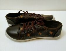 Beverly Hills Polo Club Dark Brown Women  Lace Up Sneakers Size 9,10