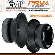 "PRV Audio 6MR300SEAL 6.5"" Sealed Back Midrange Speaker 8-ohms 300W 93 dB (Pair)"