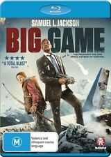 Big Game (Blu-ray) Action, Adventure Samuel L. Jackson, Ray Stevenson new sealed