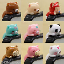Universal Mobile Phone Animal Anti-Dust Plug Earphone Dustproof Cover Stopper