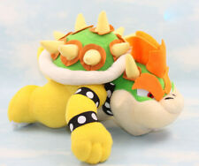 """Super Mario Brothers Bros King Party Bowser Koopa 10"""" Plush Toy Stuffed Animal"""