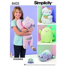 Simplicity Unisex Doll/Toy Sewing Patterns