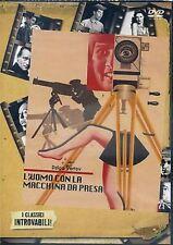 Dvd L'UOMO CON LA MACCHINA DA PRESA - (1929) *** Dziga Vertov *** ......NUOVO