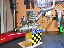 O.S. .61 RF-P Engine With Header,Tuned Pipe & Radial Mount