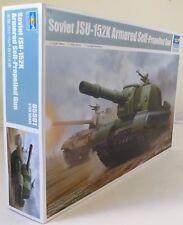 Trumpeter 1:35 05591 Soviet JSU-152K blindé s/propulsion Gun Military Model Kit