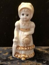 Porcelain Prarie Girl Figurine
