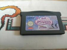 NINTENDO GAME BOY ADVANCE GBA BARBIE AND THE MAGIC OF PEGASUS CARTUCHO PAL EUR