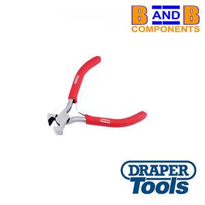 Draper Redline 100mm Mini End Cutting Cutter Pliers PVC Dipped Handles A1594
