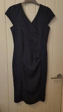 Ladies navy smart work wear dress size 10/12