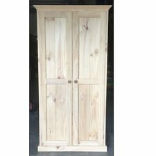 7. Pantry 120cm Solid Timber Combo RAW