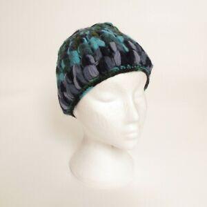Woollen Winter Hat - 25 Designs - Fleece Lined Ladies Mens Kids Woolly Beanie