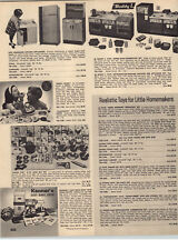 1970 PAPER AD Kenner Easy Bake Oven Corn Popper Buddy L Kitchen Doll House