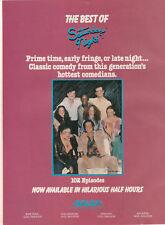 Gilda Radner John Belishi Chevy Chase 1984 Ad- The Best Of Saturday Night