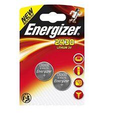 2x Pila Boton Energizer CR2430 Batería Litio 3V