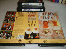 Vhs *BRIDES OF CHRIST* RARE 1991 ABC Cult Classic Complete Mini Series - Box Set